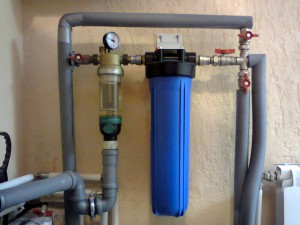 Магистральные фильтры для воды
