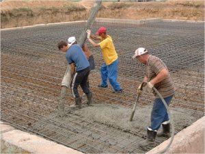 Бетонирование, заливка бетона, монолитные работы
